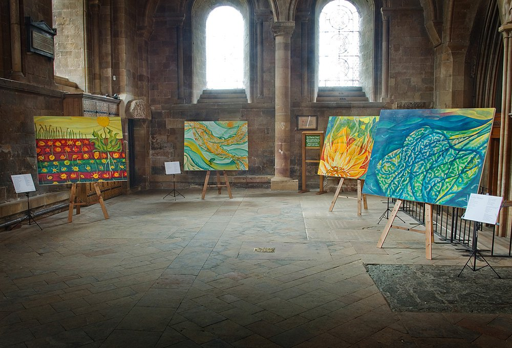 Southwell Minster exhibition