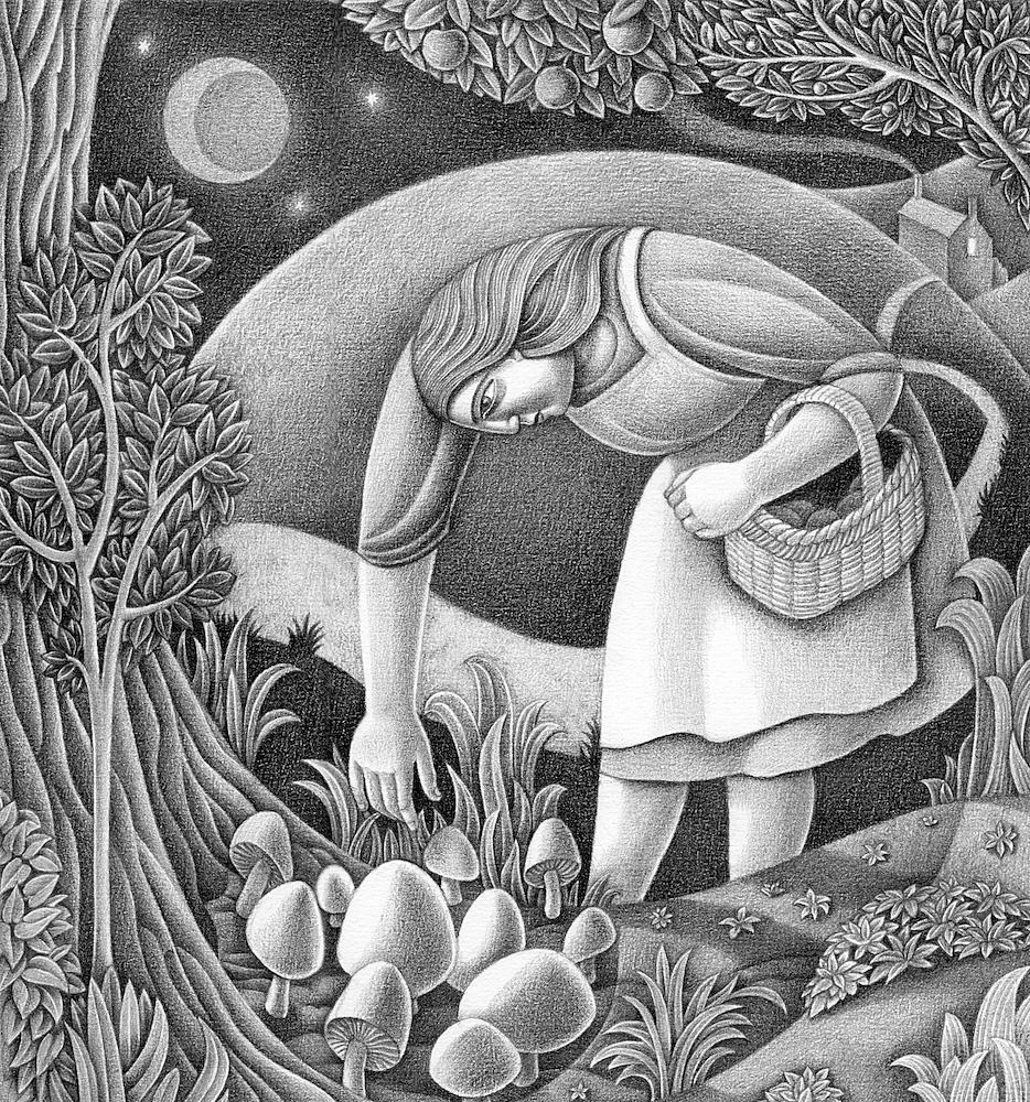 Night Harvest print